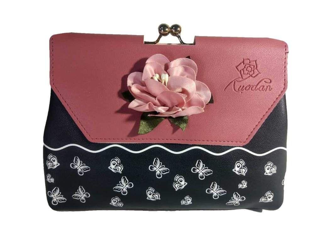 Women Ladies PU Leather Wallet Purse Small Short Handbag Clutch Card Holder LH