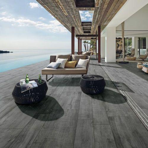 Baldosa de exterior de suelo de gres porcel nico - Baldosas terraza exterior ...