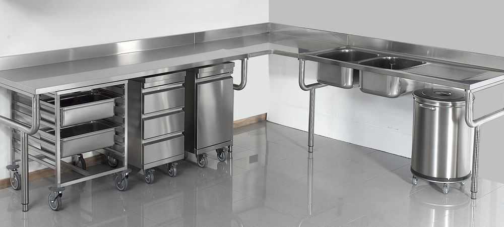 Materiel Inox Pour Votre Cuisine Professionnelle Boulangerie C H R Et Collectivites Design Industriel Cuisine Amenagement De La Cuisine Amenagement Cuisine