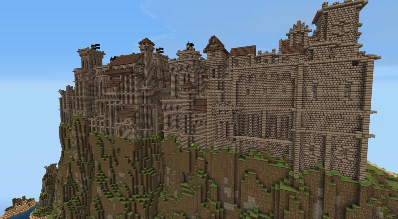 Epic Minecraft Skyrim Castle U0026 39 S For Inspiration 4  With Images