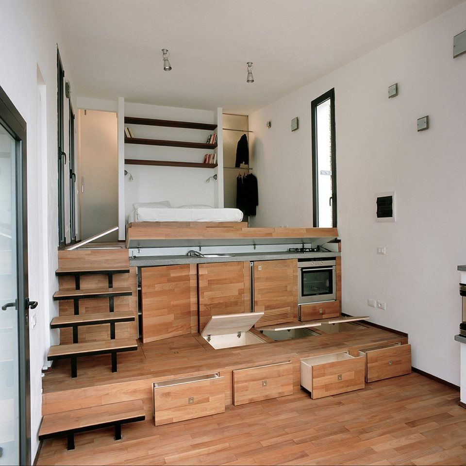interior cabinets swing maple frosted glass panel door brown finish wooden small bed green cherry kitchen island home frame base tiny house design ideas - Wooden Tiny House Plans