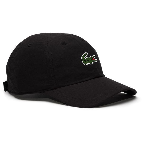 53f53ea64 Lacoste Men's Sport Polyester Cap With Green Croc ($45) ❤ liked on ...
