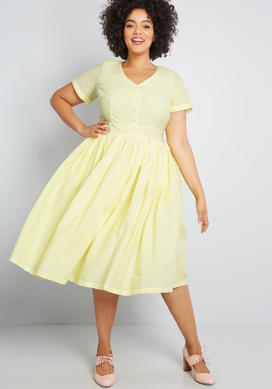 Plus Size Yellow Dresses | Cute yellow dresses, Yellow dress ...