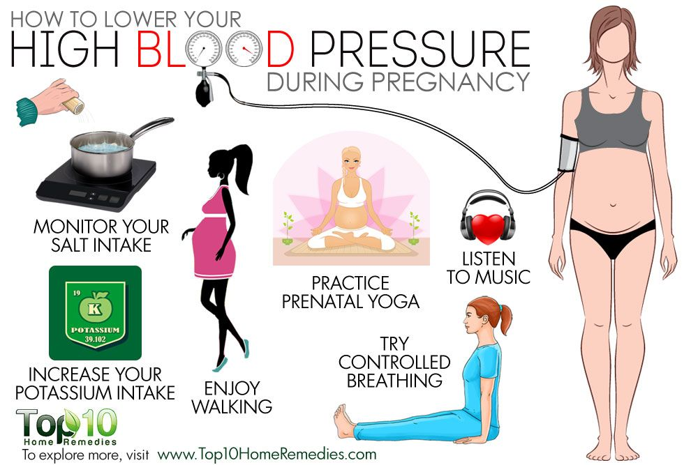 How To Lower Your High Blood Pressure During Pregnancy Health Nut