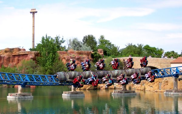 Furious Baco At The Port Aventura Park In Spain Is Just About As - Reduction port aventura
