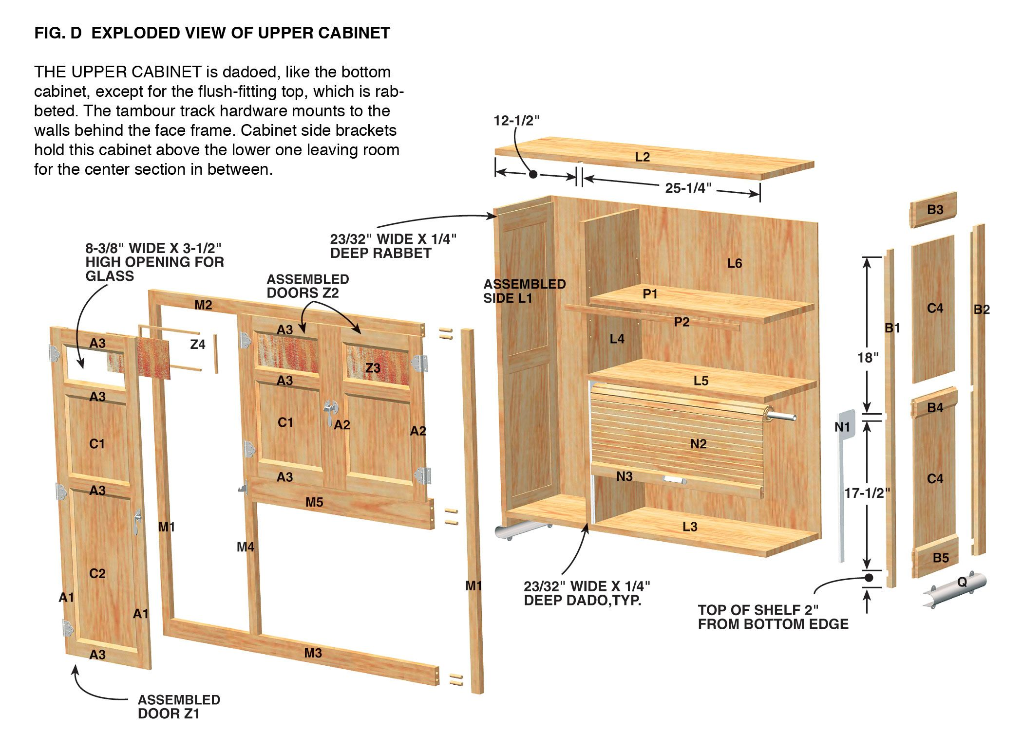 Woodworking Plans Free Plans For Kitchen Cabinets Free Download Free