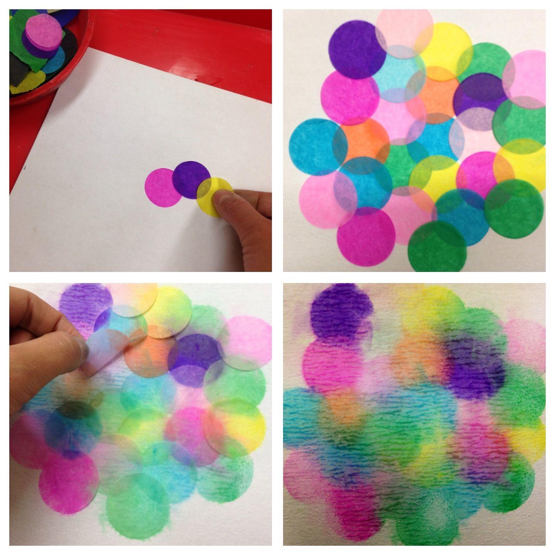 Arte Con Papel De China Actividades Para Preescolar Paper Crafts Diy Crafts Paper Crafts
