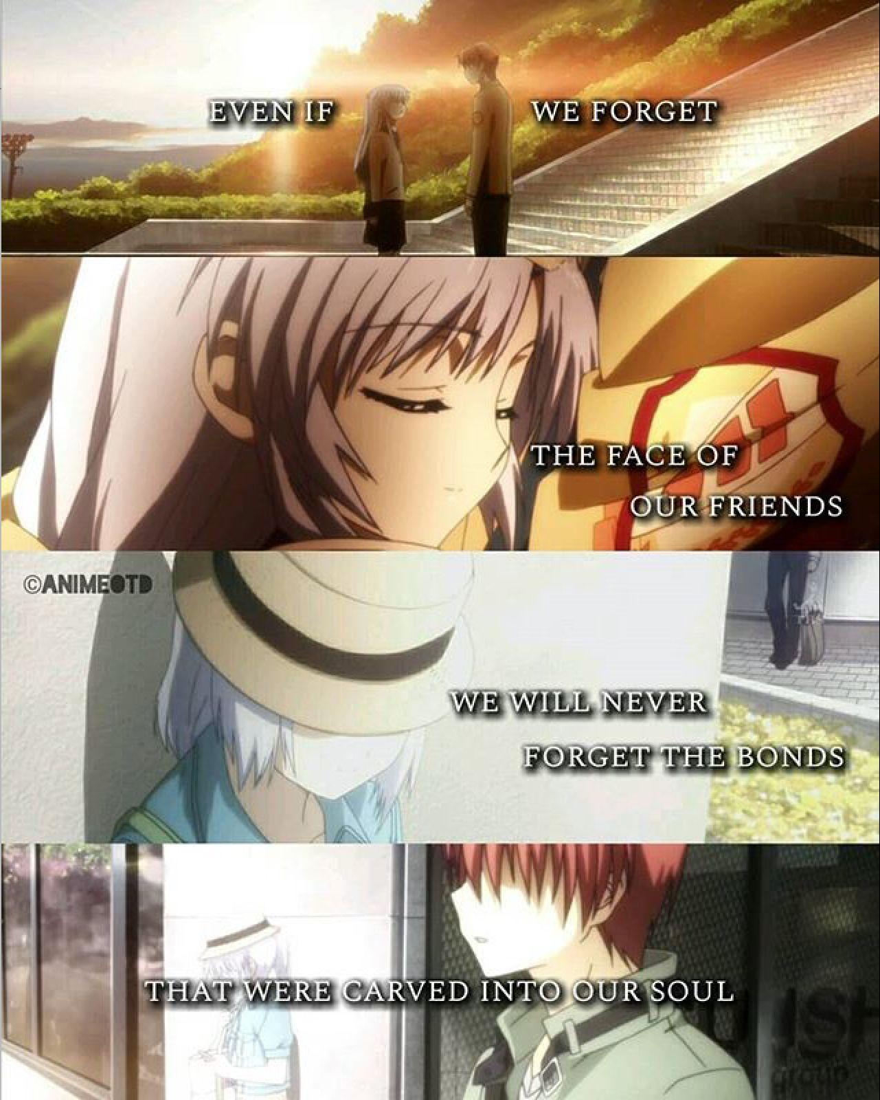 Sad Anime Goodbye Quotes