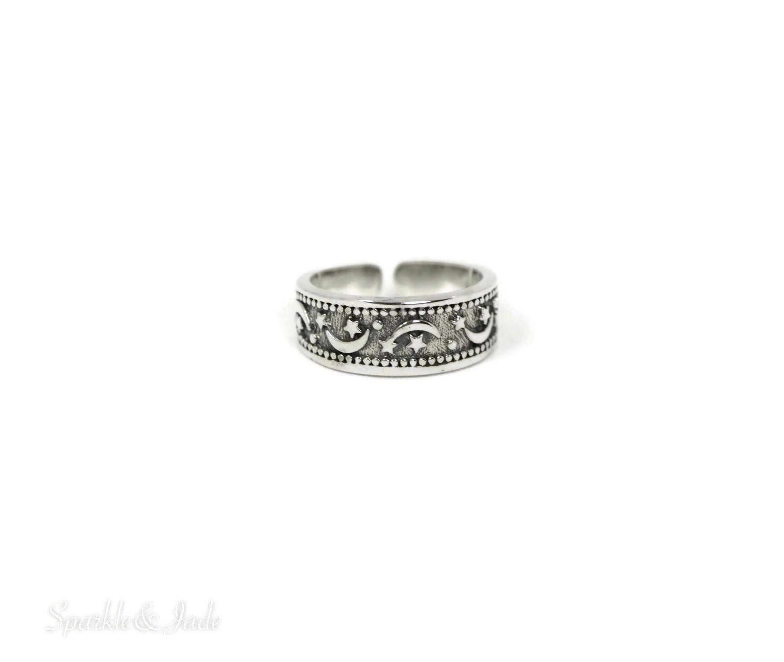 Flower  6mm .925 Sterling Silver Toe Ring