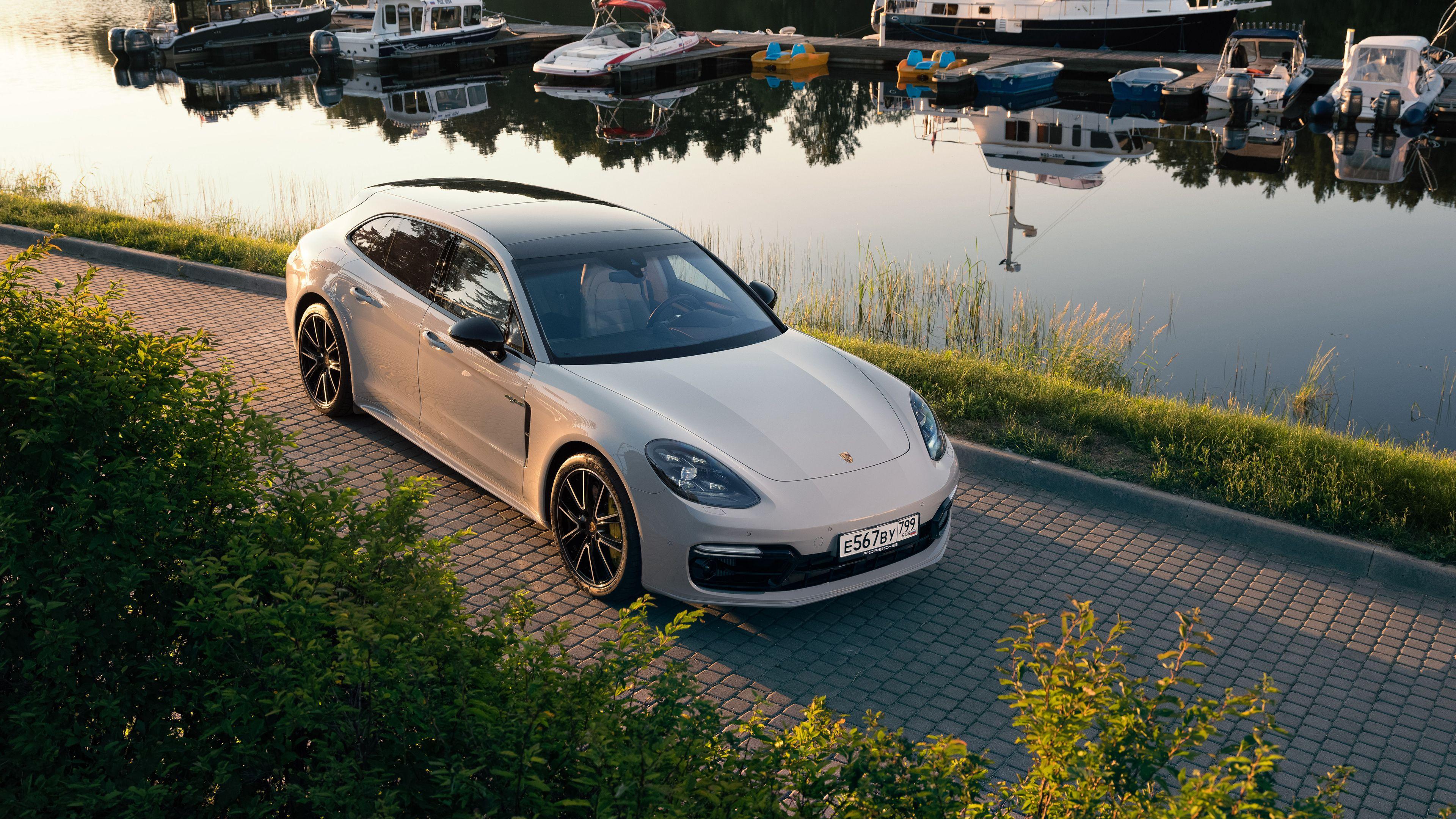Porsche Panamera Turbo S E Hybrid Sport Turismo 4k Porsche