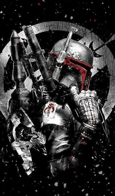 Boba Fett - Star Wars Poster - Ideas of Star Wars Poster - - Boba Fett
