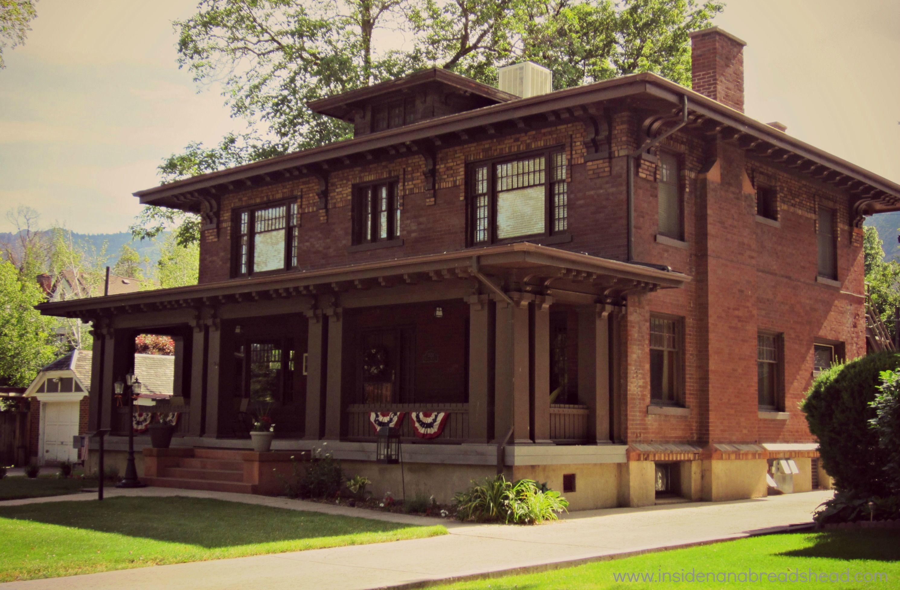 Historical Craftsman Home Ogden Ut Craftsman House Craftsman Exterior Craftsman Style Homes
