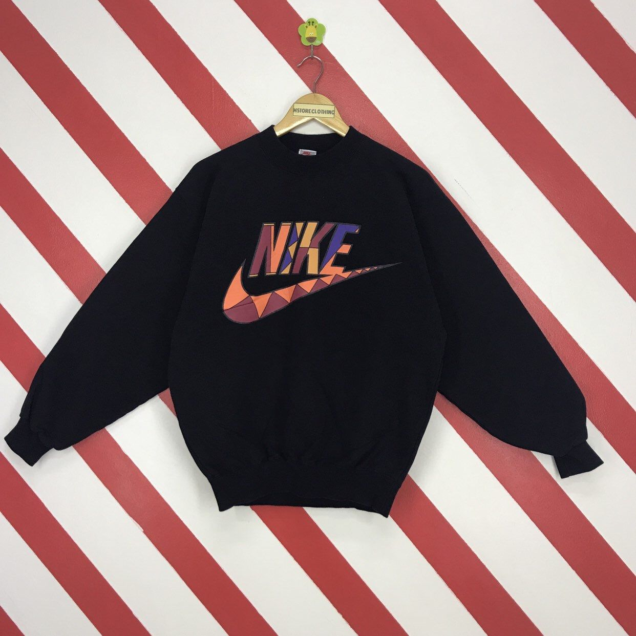 Excited To Share The Latest Addition To My Etsy Shop Vintage 90s Nike Sweatshirt Nike Air Sportwear Sweater Cr Nike Sweatshirts Sweaters Crewneck Sweatshirts [ 1242 x 1242 Pixel ]