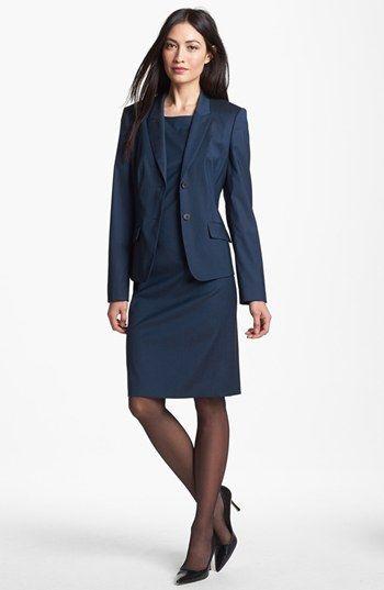 Boss Hugo Boss Jacket Sheath Dress Available At Nordstrom Work