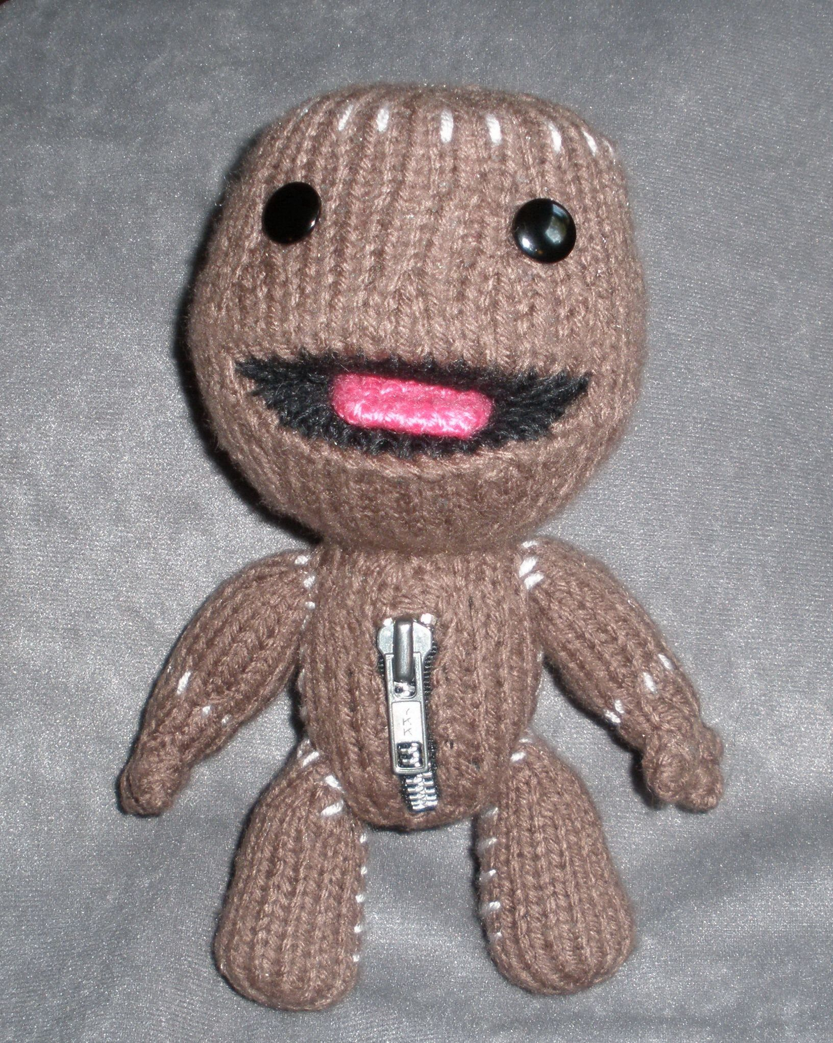 Unique Sackboy Strickmuster Composition - Decke Stricken Muster ...
