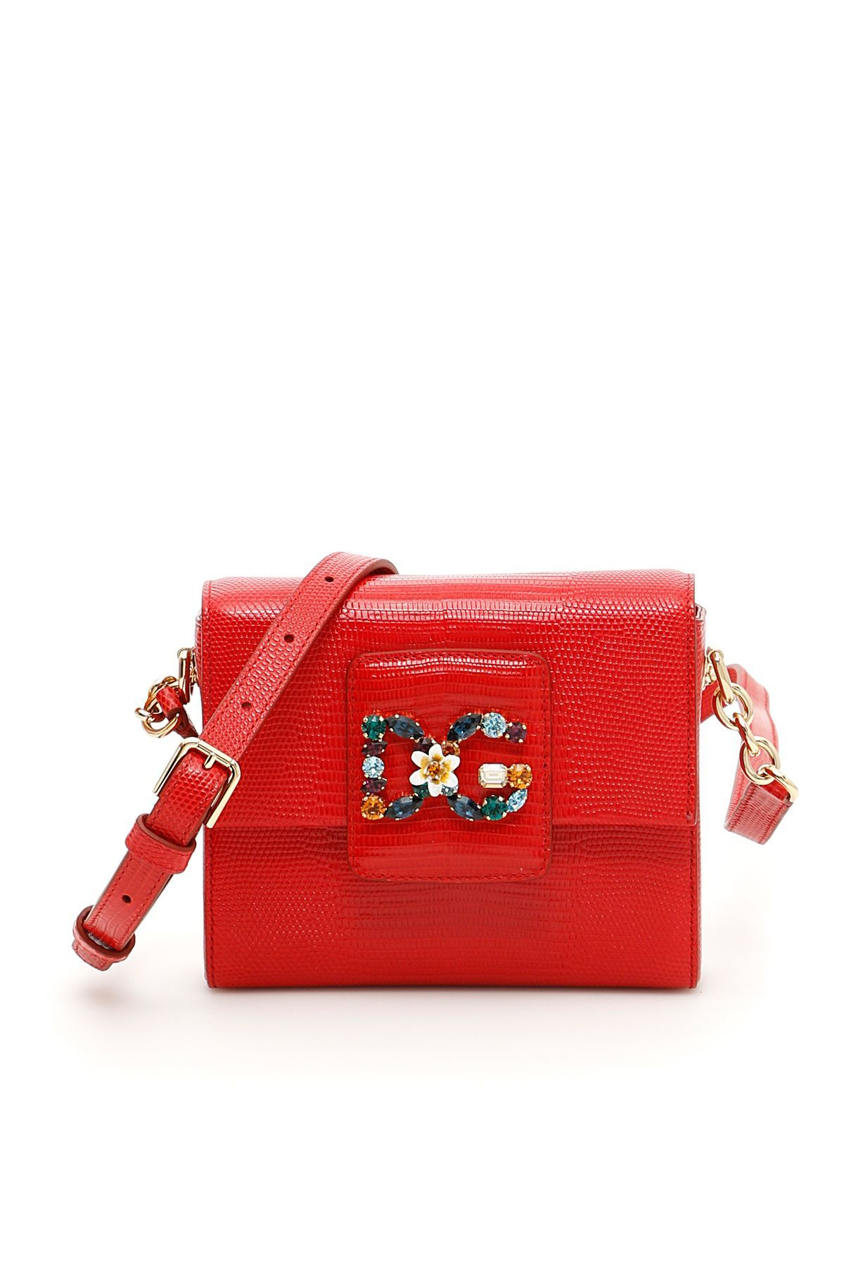 DOLCE   GABBANA DG MILLENNIALS MINIBAG.  dolcegabbana  bags  shoulder bags   leather  lining  crystal   ea2a5ab075a81