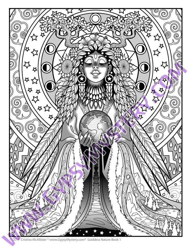 Goddess Nature Book 1, Digital Download, 21 Mystical ...