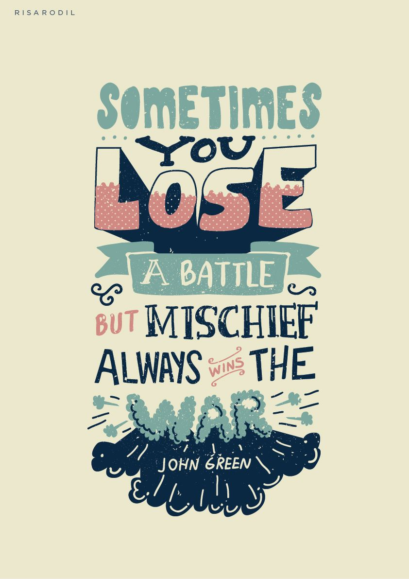 Typographic Book Cover Quote : Looking for alaska typographic posters type