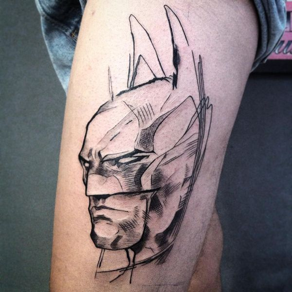 41 Cool Batman Tattoos Designs Ideas For Male And Females Batman Tattoo Tattoos Super Hero Tattoos