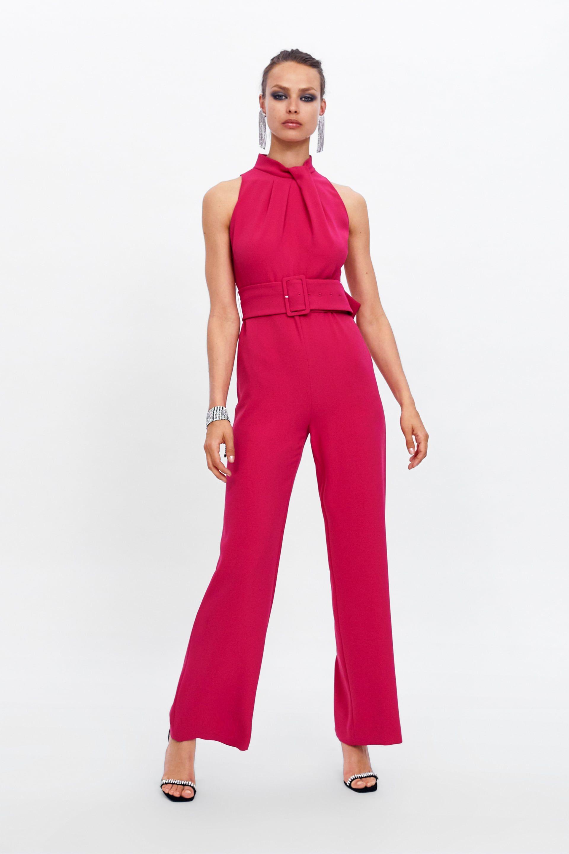f3b563a1 JUMPSUIT WITH BELT - View All-DRESS TIME-WOMAN-CORNER SHOPS | ZARA