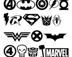 Resultado de imagen de Logos de superheroes