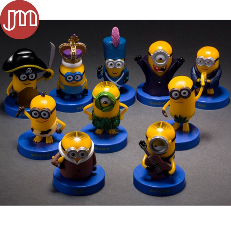 Find More Action & Toy Figures Information about New 10 PCS Despicable Me 3 Minions Action Figure Stand 4 8cm Anime Brinquedos Vampire Primitive Pirate Kids Toys Gift Tracking,High Quality christmas personalized gifts,China christmas gift calculator Suppliers, Cheap christmas gift tag stickers from M&J Toys Global Trading Co.,Ltd on Aliexpress.com