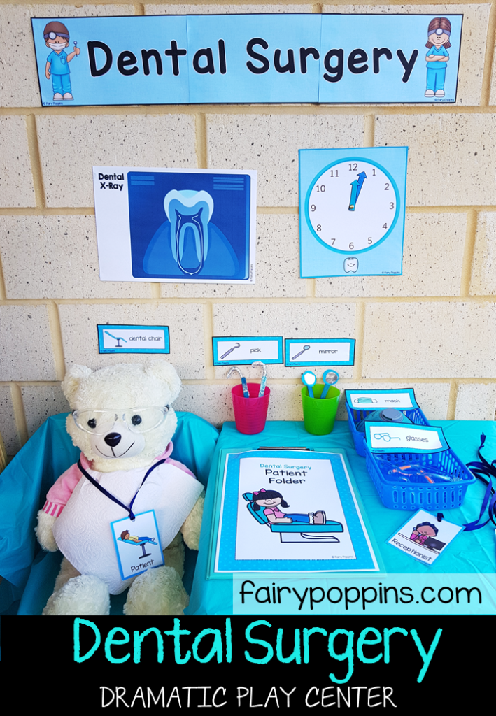Dentist/doctor role play | Aistear | Pinterest | Role play ... |Preschool Dramatic Play Dentist
