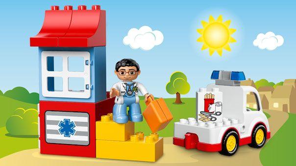 Lego Duplo Ambulance Create Endless Play With The Lego Duplo