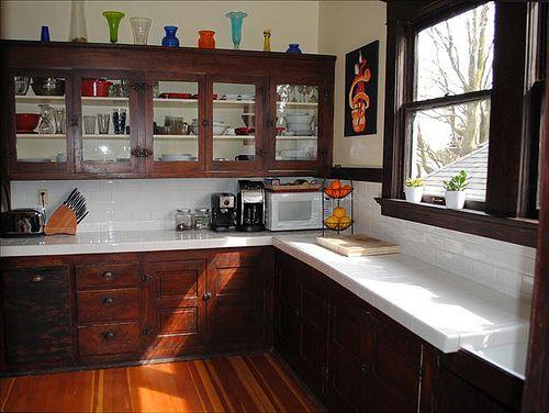 1912 Craftsman Kitchen Craftsman Kitchen Bungalow Kitchen Kitchen Design