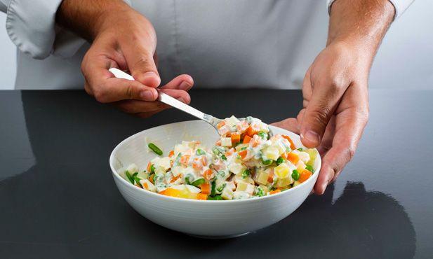 Como fazer salada russa