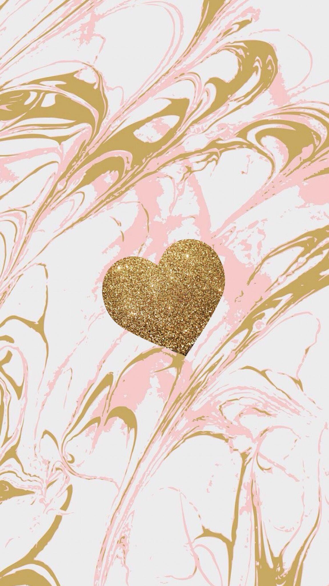 Rose Gold Marble Cute G Letter Wallpaper
