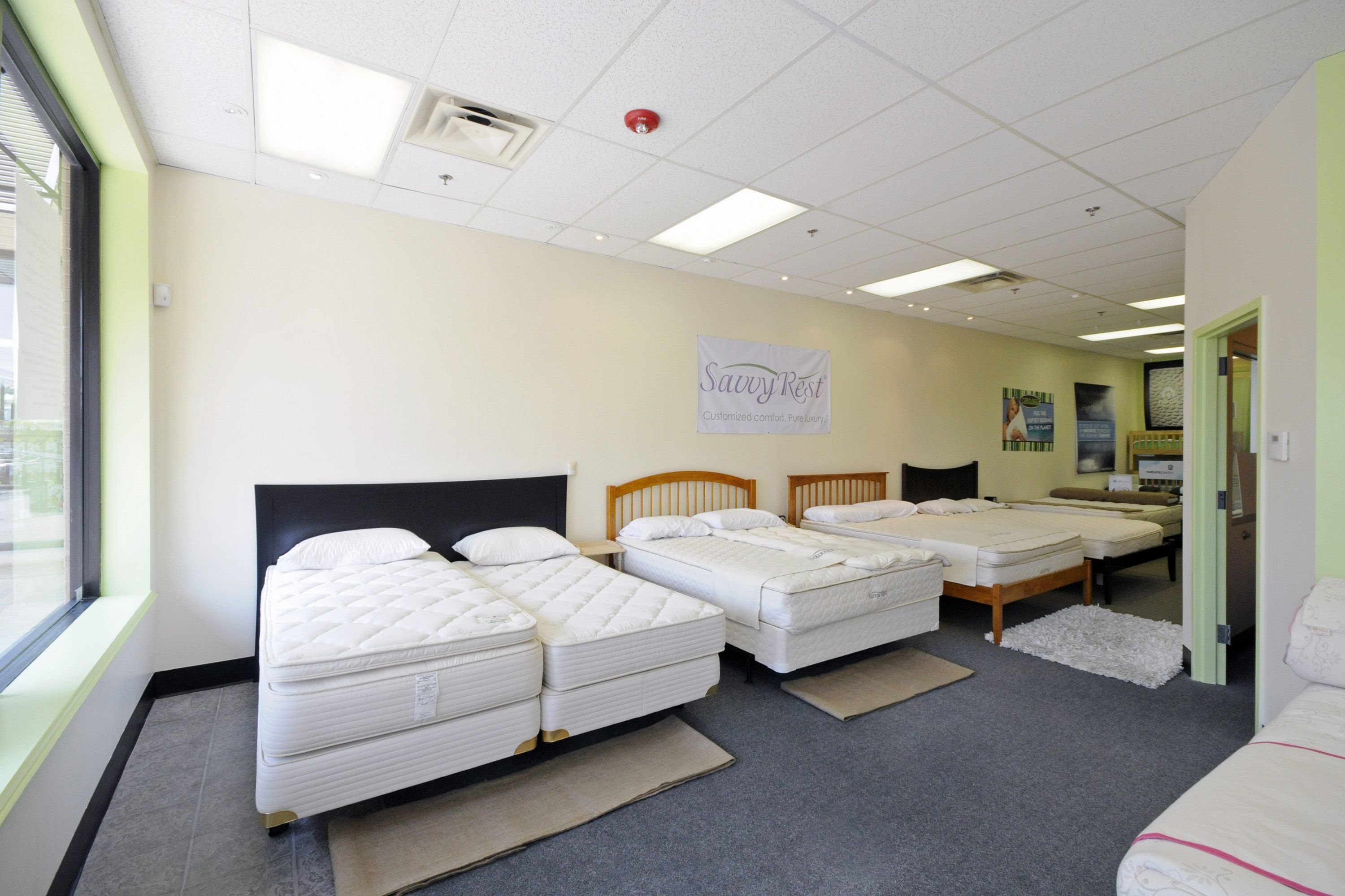 Lovely The Organic Bedroom Showroom   Showing Royal Pedic And Savvy Rest