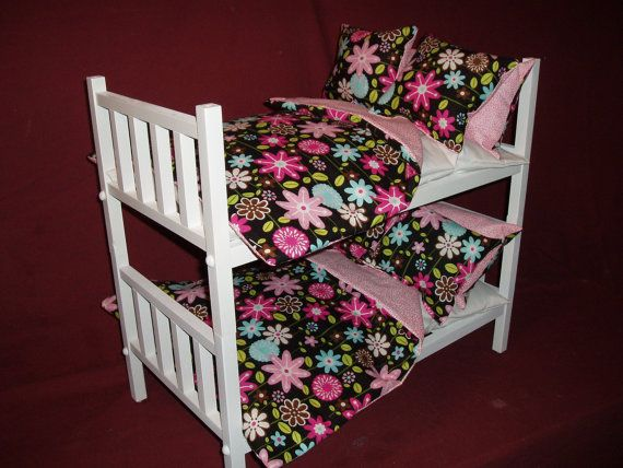 how to make american girl bunk beds