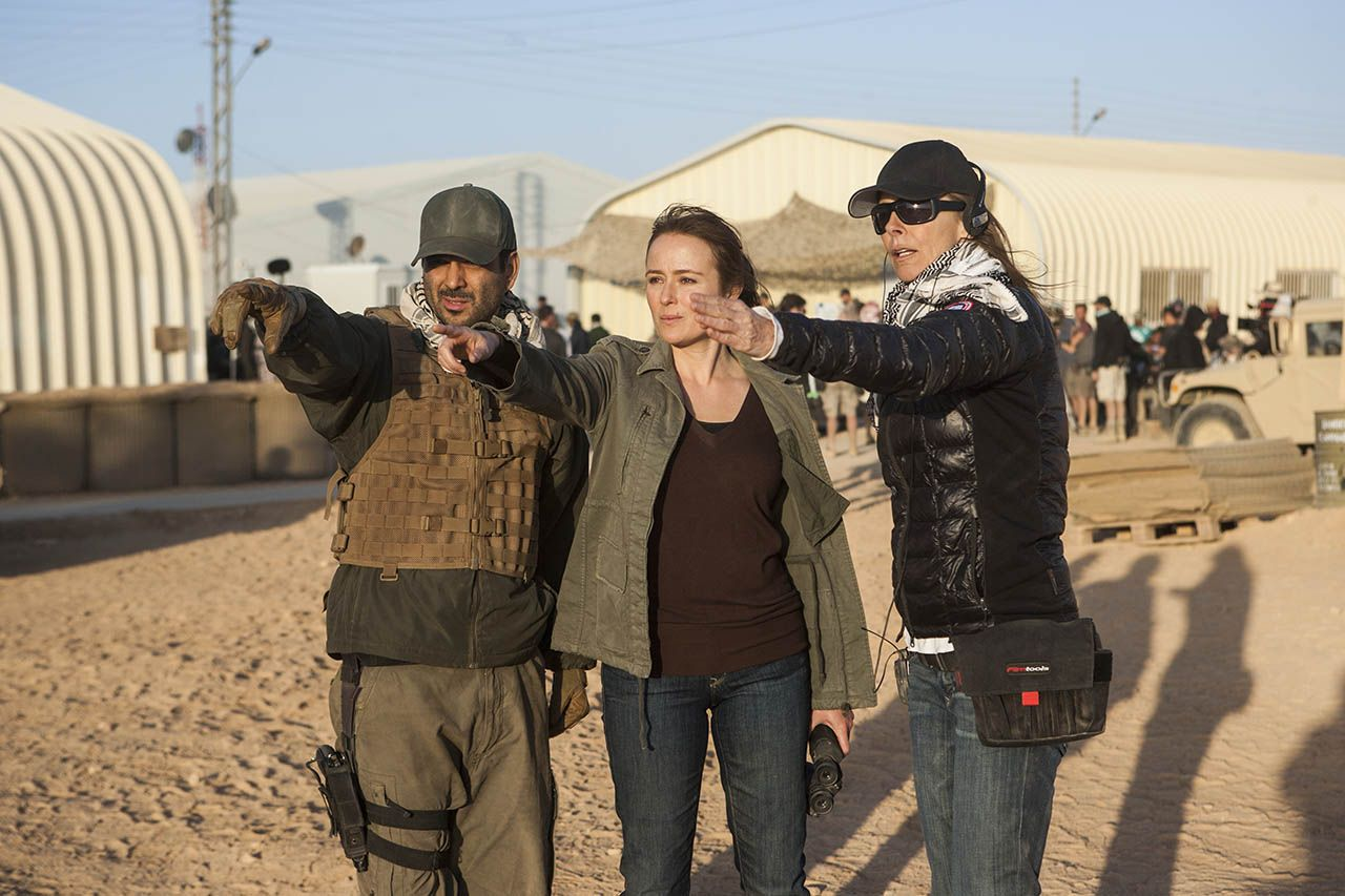 Jennifer Ehle (center) as Jessica in 'Zero Dark Thirty'