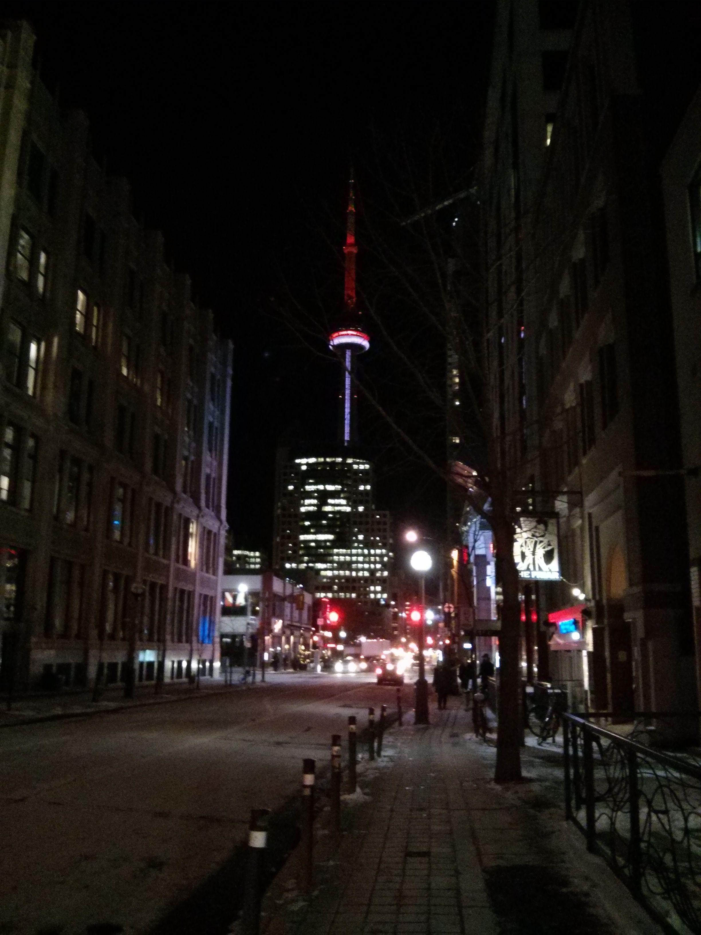 On a cold winter's night.... still pretty~