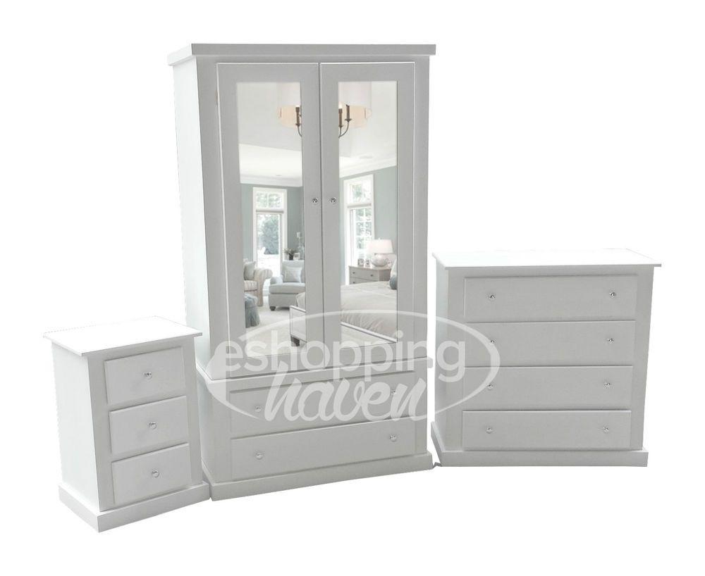 Superb Hand Made Sandra White 3 Piece Bedroom Set Assembled Download Free Architecture Designs Rallybritishbridgeorg