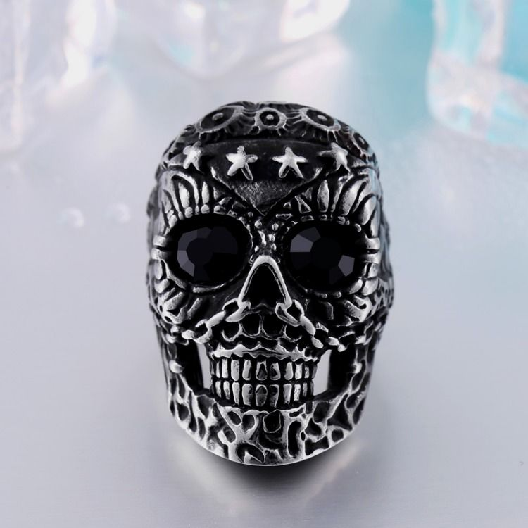 start ring Fashion Punk jewelry 13 Skull Ring Factory Price