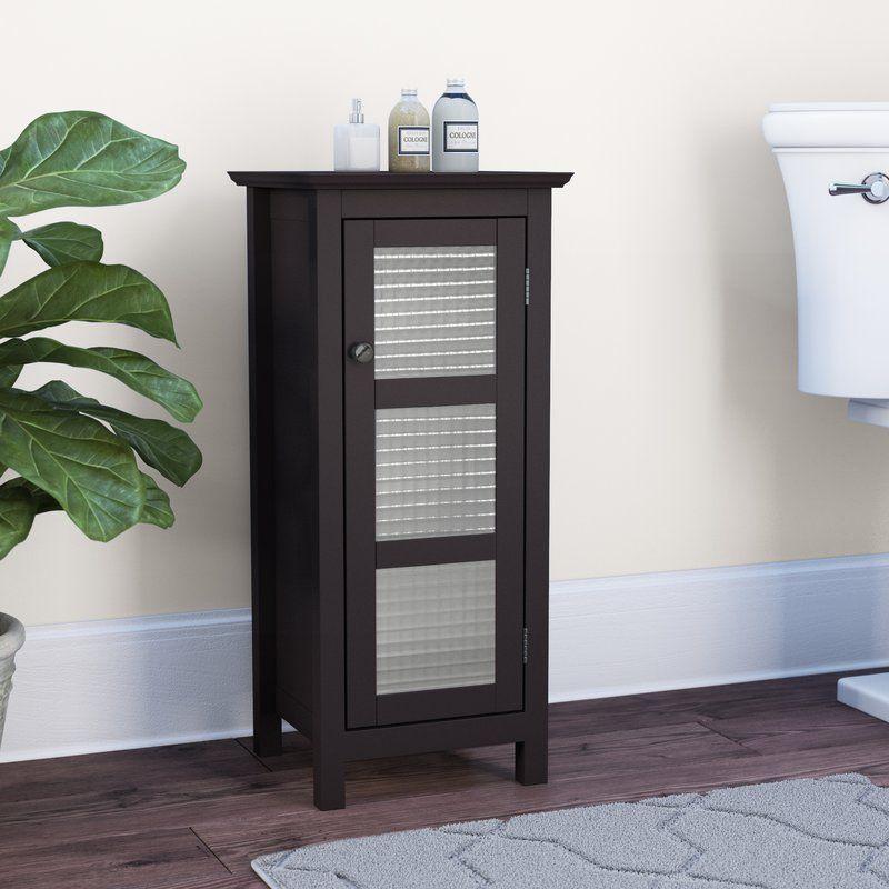 Winston Porter Cosby Floor Glass 1 Door Accent Cabinet Reviews Wayfair Accent Doors Accent Cabinet Cabinet