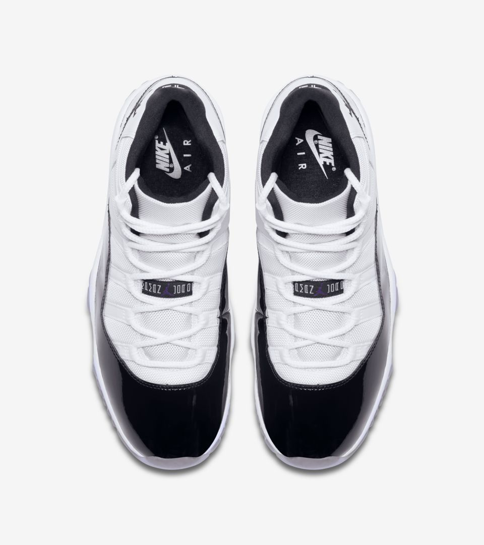 Air Jordan 11 Concord  White   Black  Release Date  dbaa5bdee