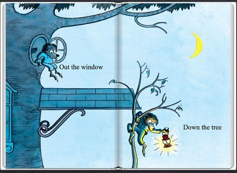 Out The Window Down The Tree My Childhood Childrens Books Picture Book