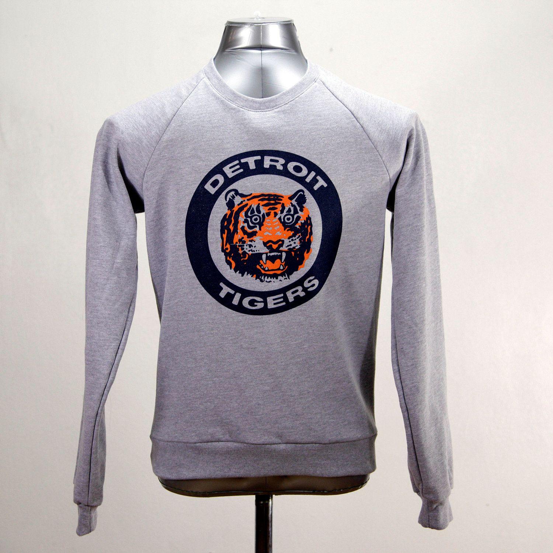 reputable site 91093 5fa0b Detroit Tigers Sweatshirt 1984 Logo Tigers Opening Day 2017 ...