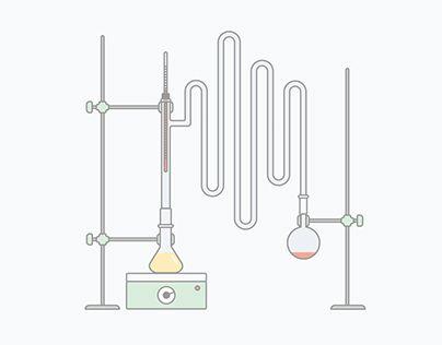 """다음 @Behance 프로젝트 확인: """"Chemistry Illustrations"""" https://www.behance.net/gallery/29322375/Chemistry-Illustrations"""