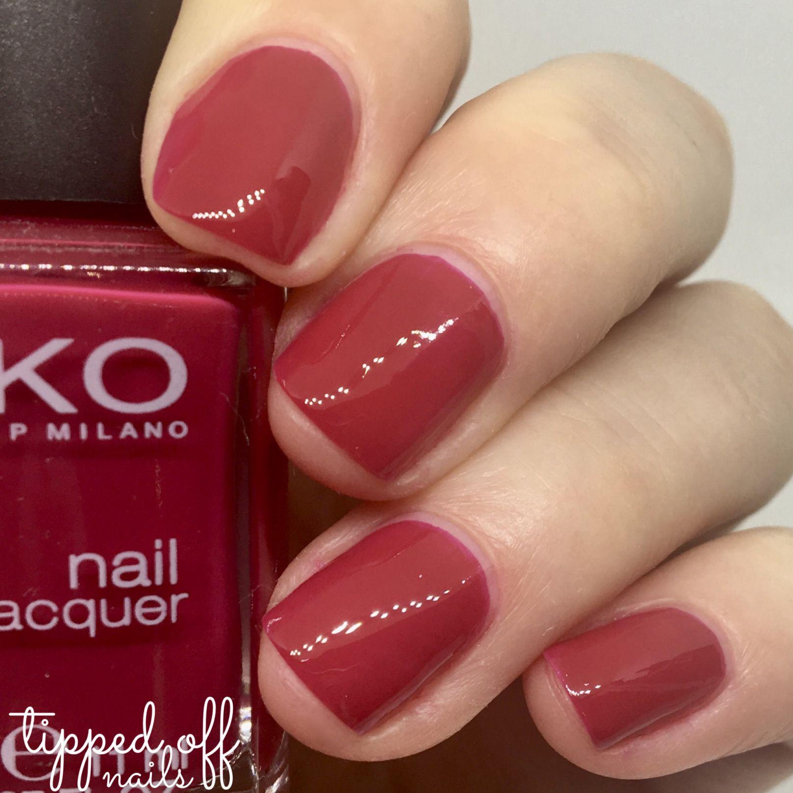 Kiko Milano: Part Five – Purple, Reds & Pinks