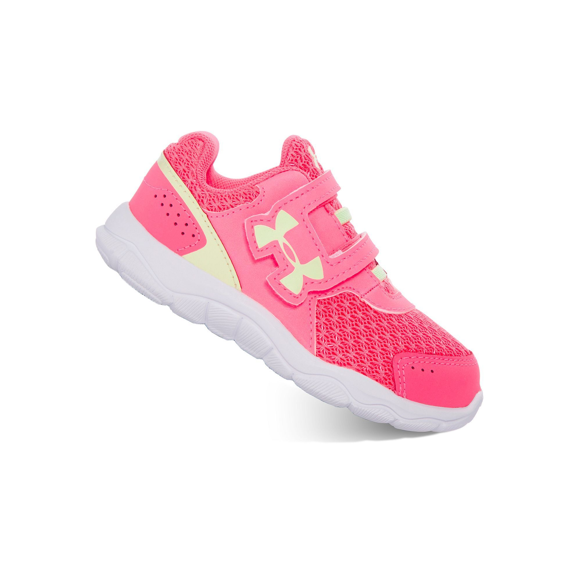 toddler girl under armour tennis shoes