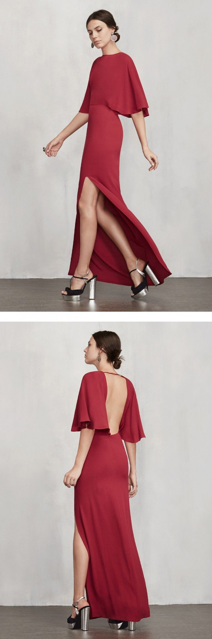 Totally flattering and glamorous cocktail dress — imagine walking in ...