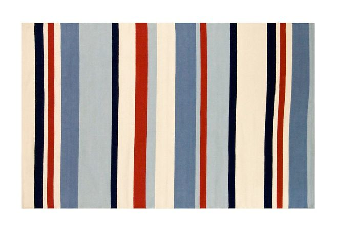 Children S Ahoy There Striped Rug From John Lewis