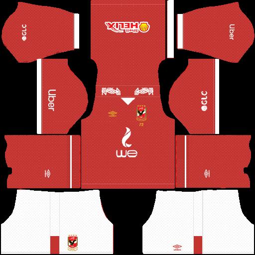 Al Ahly Sc Kits 2019 2020 In Kits Dream League Soccer In 2020 Soccer Kits Soccer League