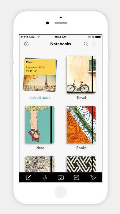 Best Evernote Alternatives for iPhone or iPad App covers