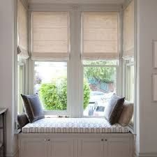 Image Result For How To Dress A Small Square Bay Window Bay Window Seat Bedroom Window Seat Living Room Blinds