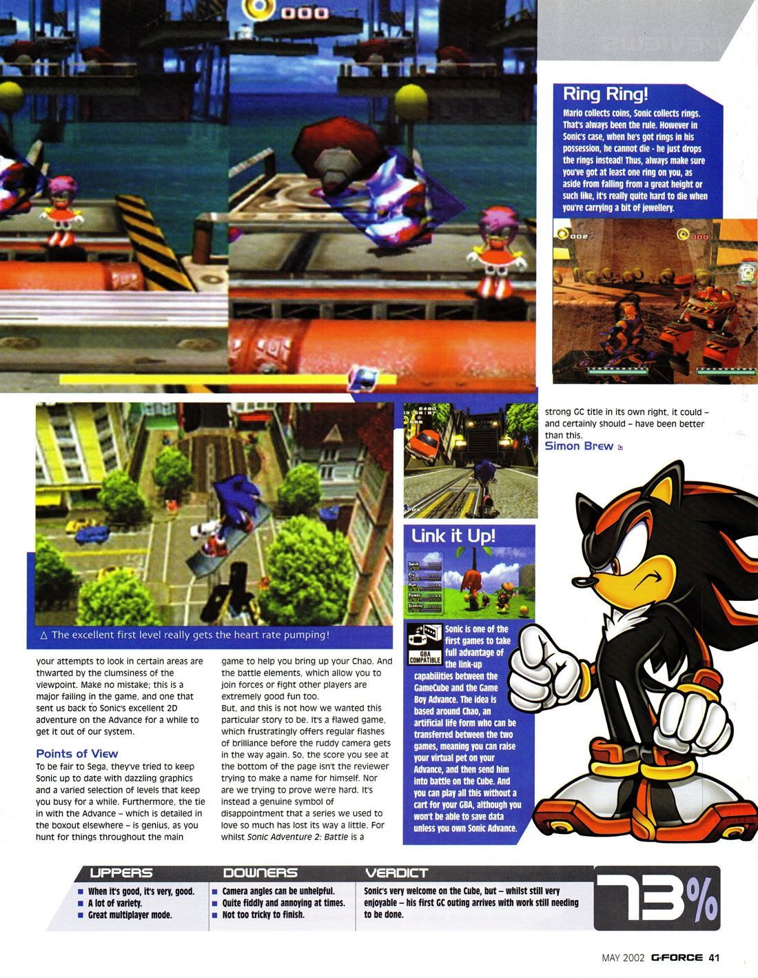 Pin by Sonic Scene on Retro Magazine Scans | Sonic adventure